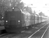 Train danois